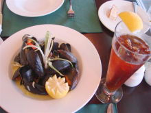 St. Peters Inn Mussels